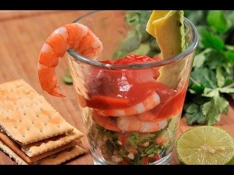 Cóctel de camarones - Shrimp Cocktails
