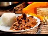 Fajitas de res en salsa de morita - Beef Fajitas in Morita Sauce