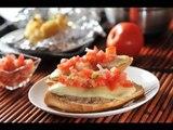 Molletes con frijoles - Mexican bread with bean breakfast - Recetas de cocina mexicana