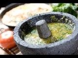 Salsa verde morelense - Green salsa - Recetas de salsa