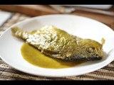 Mojarra en salsa verde - Recetas de cuaresma - Como cocinar