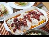 Filetes de pescado rellenos de espinaca - Fish filet stuffed with spinach - Recetas de pescado