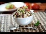 Ensalada de frijoles con papas - Recetas de ensaladas - Bean and potato salad