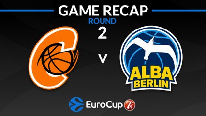 7Days EuroCup Highlights Regular Season, Round 2: Cedevita 75-73 ALBA