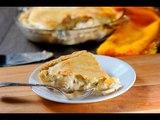 Tarta de champiñones con queso - Receta fácil de preparar