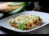 Tacos dorados de nopales - Receta fácil de preparar