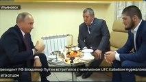 Khabib meets Putin: Russian president congratulates UFC champ on 'worthy' victory
