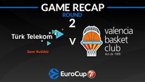 Highlights:  Turk Telekom Ankara - Valencia Basket