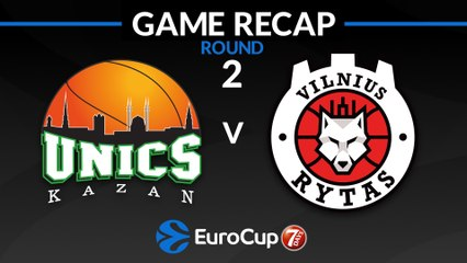 7Days EuroCup Highlights Regular Season, Round 2: UNICS 86-73 Rytas