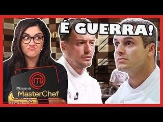 MasterChef Profissionais: É GUERRA! WILLIAM x RAFAEL | COMENTANDO O PROG DE 09/10
