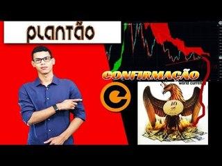 Confirmação Conspiração do Bitcoin 10/10/18 - Porque Queda no Mercado? Queda Mercado de US$ 20B..