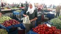 Domatesin merkezi Antalya'da domates pazarda 6 TL