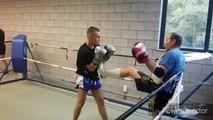 La Province - Boxe thaï - Guillermo Palomar en pleine préparation en vue de son premier combat pro en Thaïlande.