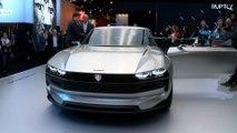 No Paris Motor show, um banho de carros elétricos de luxo e retrôs