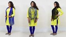 Dupatta DIY: Wear Dupatta in 3 Different Style | दुपट्टा पहनने के 3 stylish तरीके | Boldsky