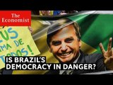 Why could Brazil's democracy be under threat? | The Economist