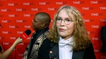 Mia Farrow has tried to leave Woody Allen controversy in her past