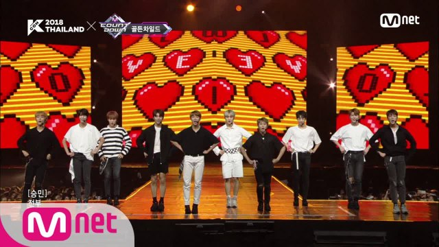 골든 차일드(Golden Child) - LET ME|KCON 2018 THAILAND × M COUNTDOWN