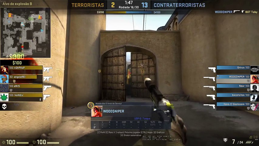 5k de usp Only headshots