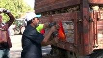 Elazığ polisinden çiftçiye reflektör uygulaması