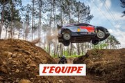 Adrénaline - VTT : WRC contre VTT, Dani Sordo défie Andreu Lacondeguy dans une descente folle
