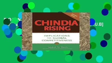 D.O.W.N.L.O.A.D [P.D.F] Chindia Rising: Implications for Global Competitiveness [E.P.U.B]