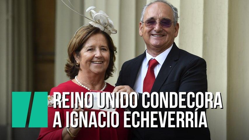 La familia de Ignacio Echeverría recoge la medalla de San Jorge