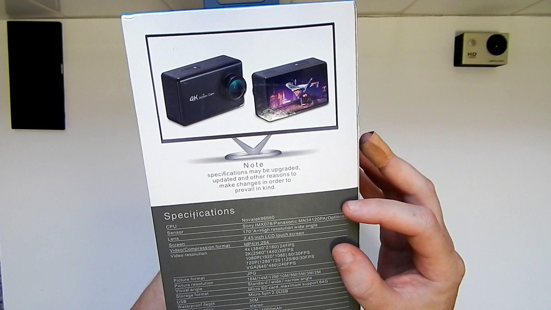 B1 4K Action Camera Review Onreal 4k Clone