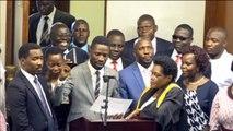 Ouganda, BOBI WINE DE RETOUR À KAMPALA