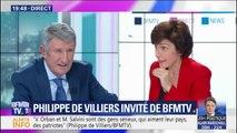 """Pour Philippe de Villiers, """"si Emmanuel Macron ne veut pas s'occuper de la question identitaire, il sera balayé"""""""