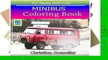 D.o.w.n.l.o.a.d E.b.o.ok MINIBUS Coloring Book For Adults With Color: MINIBUS  sketch coloring
