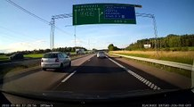 Tranquille sur la route - Suède