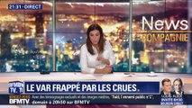 Inondations dans le Var: Deux morts à Saint-Maxime