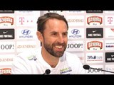 Gareth Southgate & John Stones Pre-Match Press Conference - Croatia v England - UEFA Nations League