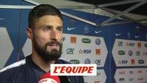 Giroud «Beaucoup de choses ne sont pas allées dans le bon sens» - Foot - Bleus
