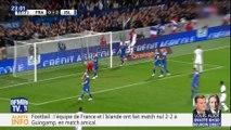 France-Islande: Mbappé sauve les Bleus d'une première défaite depuis le mondial