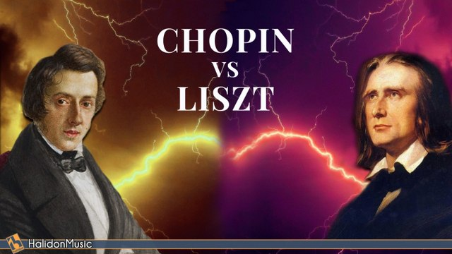 Various Artists - Chopin vs Liszt - The Masters of Classical Music
