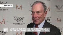 Michael  Bloomberg Prepares To Be Presidential Candidate