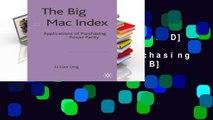 F.R.E.E [D.O.W.N.L.O.A.D] The Big Mac Index: Applications of Purchasing Power Parity [E.P.U.B]
