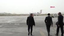 Dışişleri Bakanı Mevlüt Çavuşoğlu Bağdat Uluslararası Havalanı Dışişleri Bakan Yardımcısı Hazım El...