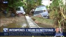 Intempéries dans le Var: les sinistrés s'attellent au nettoyage et redoutent de nouvelles inondations