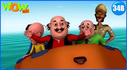 Motu Patlu in Hindi | Lost Island| Cartoon for Kids | Wow Kidz