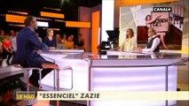 """Zazie agacée par une phrase de son propre dossier de presse dans """"L'info du vrai"""" - Regardez"""