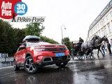L'équipage Auto Plus du Pékin - Paris 2018 en Autriche