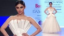 Mouni Roy walks on ramp for Bombay Times Fashion Week 2018; Watch Video | FilmiBeat