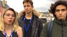 Témoignages d'élèves à la sortie de la Rencontre Ouest-France