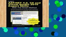 Review  Learn ASP.NET 4.0, C# and Visual Studio 2010 Expert Skills with The Smart Method: