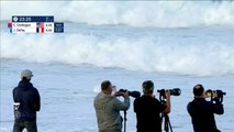 Adrénaline - Surf : Courtney Conlogue domine Johanne Defay en quarts de finale du Roxy Pro France 2018