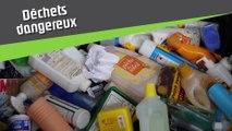 Que deviennent vos déchets une fois triés ? Les déchets dangereux