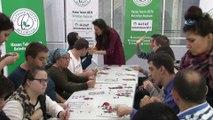 Gaziosmanpaşada engelli öğrenciler Karagöz tasviri yaptı